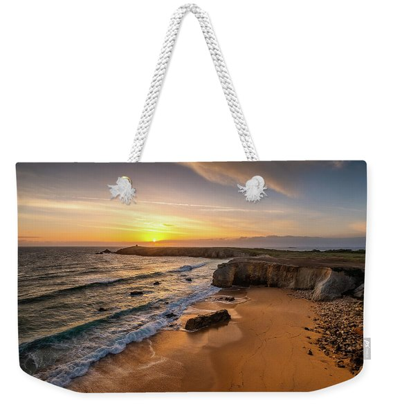 Pointe Du Percho And Port Blanc Weekender Tote Bag