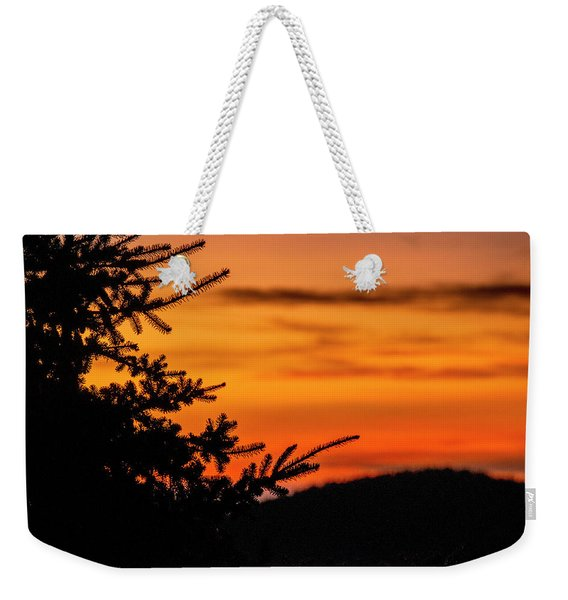 Pointing To Dawn Weekender Tote Bag
