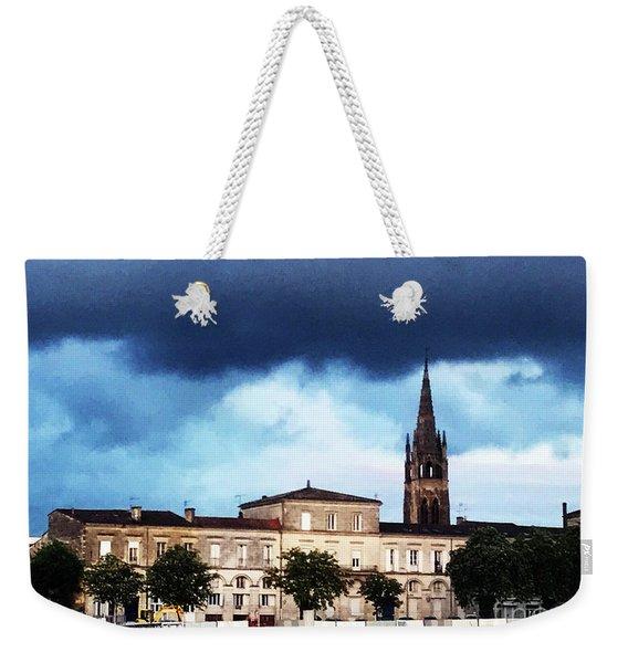 Poking The Storm Weekender Tote Bag