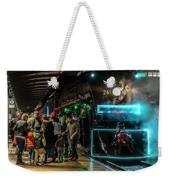 005 - Polar Express Weekender Tote Bag