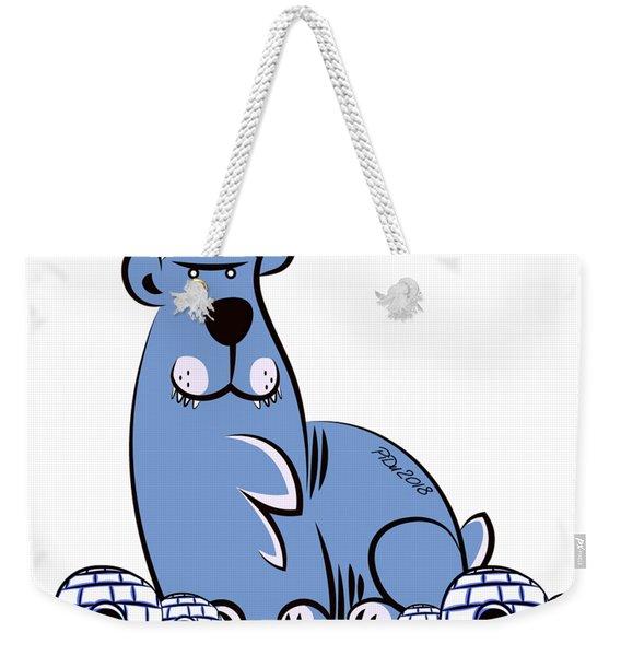Polar King Weekender Tote Bag
