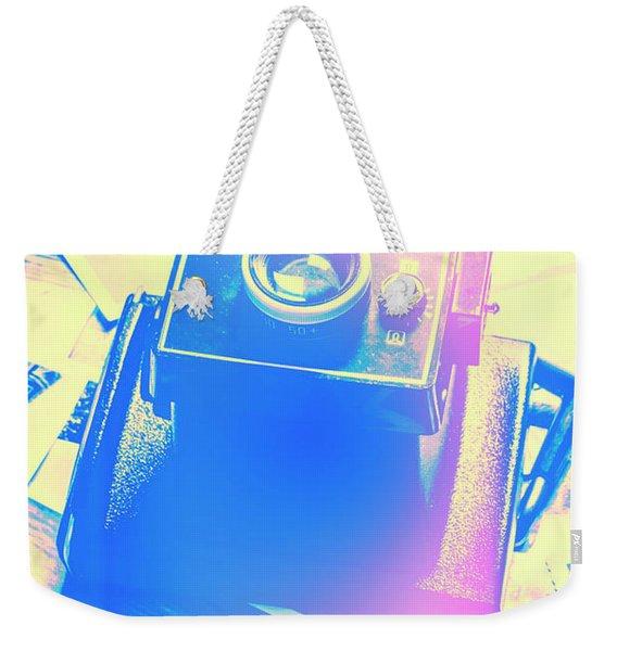 Polarised Pop Art Weekender Tote Bag