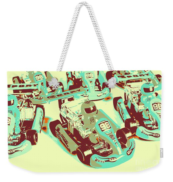 Poll Position Posterized Weekender Tote Bag