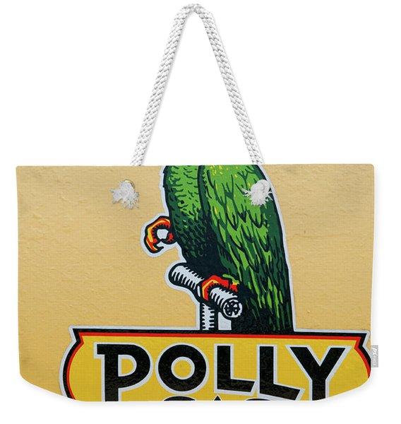 Polly Gas Weekender Tote Bag