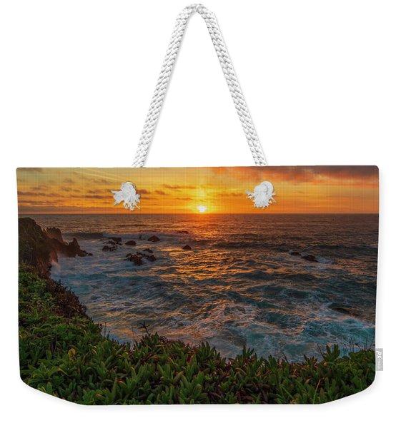 Pomo Bluffs Sunset - 2 Weekender Tote Bag