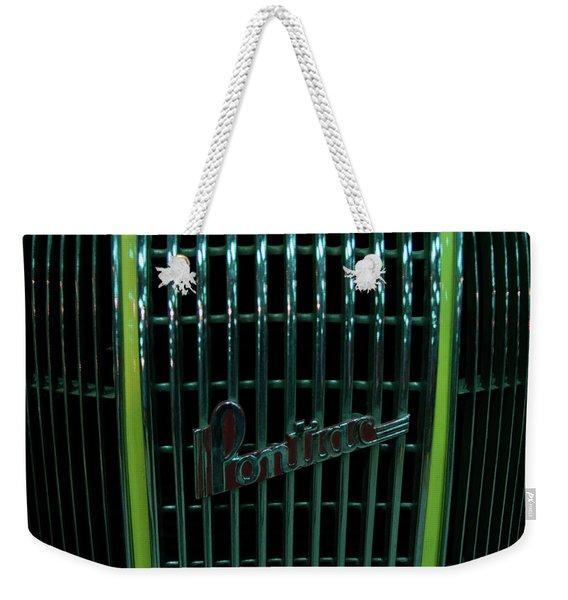 Pontiac - Close Weekender Tote Bag