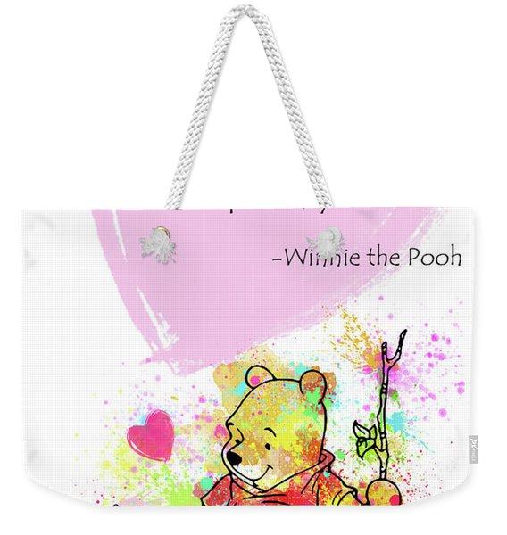Pooh -  Spell Love... Weekender Tote Bag