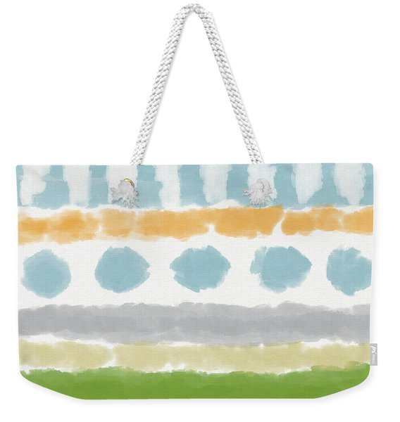 Poolside 3- Art By Linda Woods Weekender Tote Bag