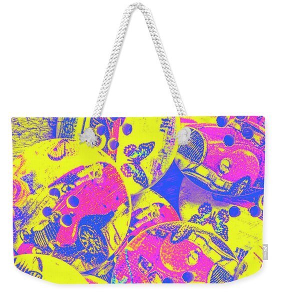 Pop Art Garage  Weekender Tote Bag