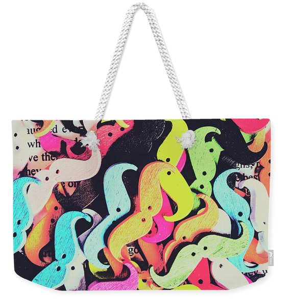 Pop Art Moes Weekender Tote Bag