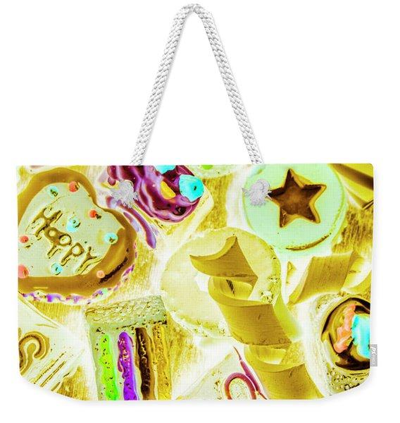 Pop Art Party Weekender Tote Bag