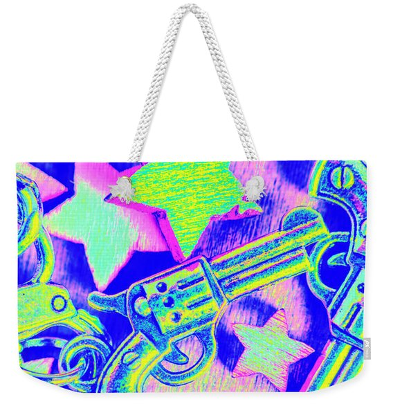 Pop Art Police Weekender Tote Bag