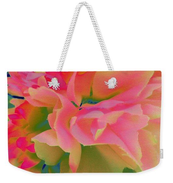 Pop Peony Petals Weekender Tote Bag