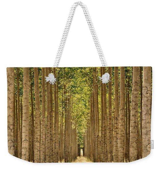 Poplars In Boardman Weekender Tote Bag