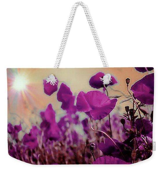 Poppies In Sunlight Weekender Tote Bag