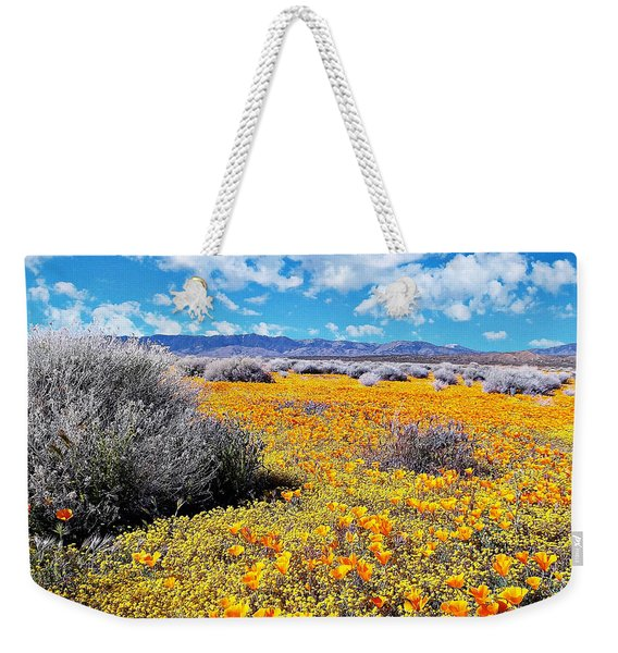 Poppy Patch - California Weekender Tote Bag