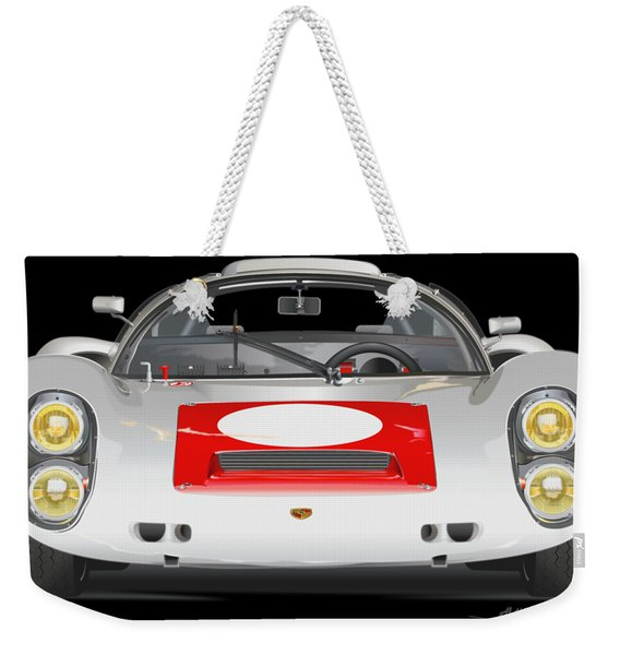 Porsche 910 No Background Weekender Tote Bag