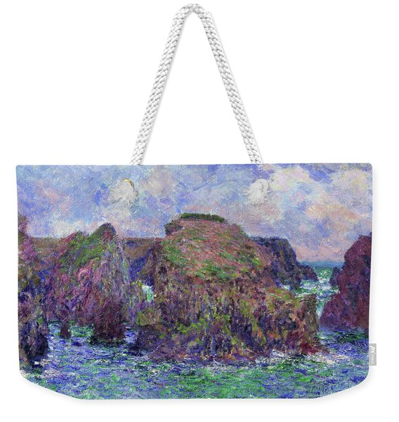 Port-goulphar, Belle-ile - Digital Remastered Edition Weekender Tote Bag