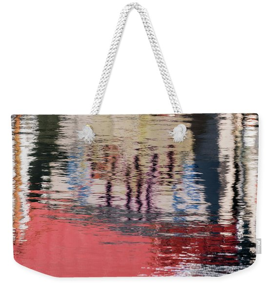 Port Reflections Weekender Tote Bag