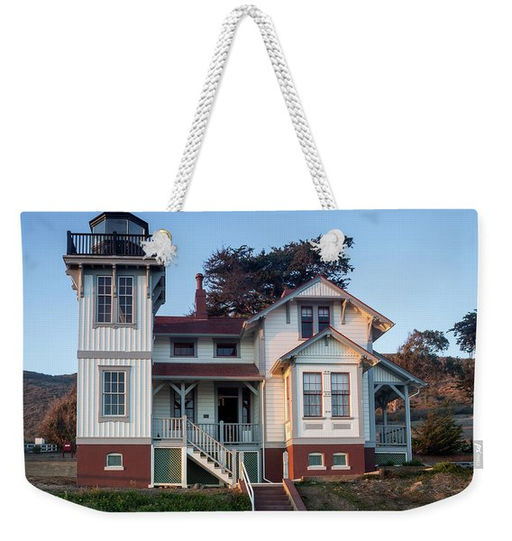 Port San Luis Lighthouse Weekender Tote Bag