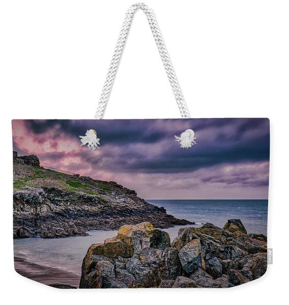 Porthgwidden Dramatic Sky Weekender Tote Bag
