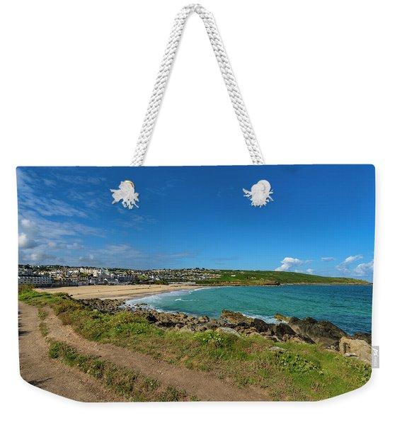 Porthmeor Beach - St Ives Cornwall Weekender Tote Bag