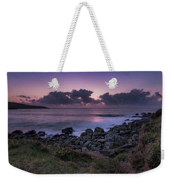 Porthmeor Sunset - Cornwall Weekender Tote Bag