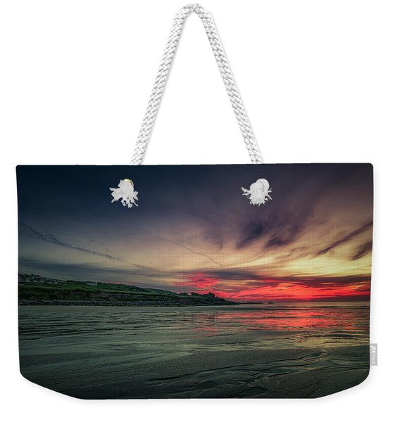 Porthmeor Sunset Version 2 Weekender Tote Bag
