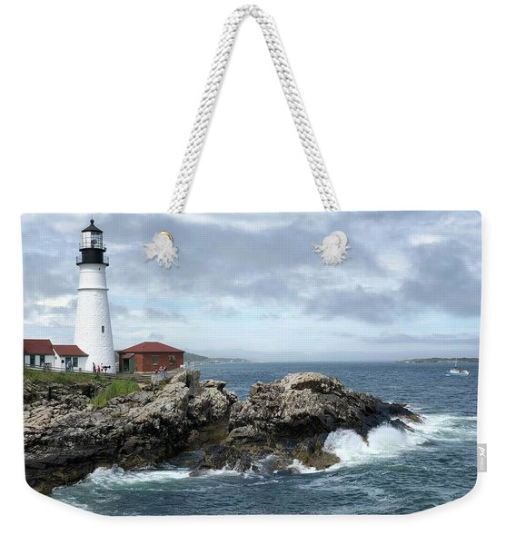 Portland Head Light House Weekender Tote Bag