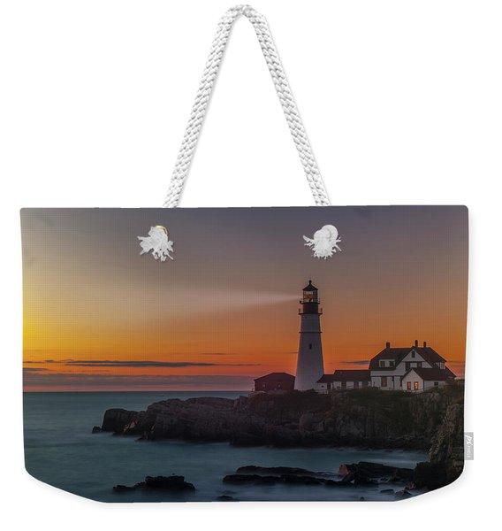 Portland Headlight Weekender Tote Bag