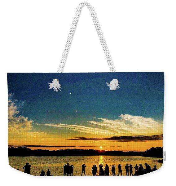 Portland Pauls Sunset Weekender Tote Bag