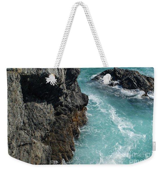Porto Covo Cliff Views Weekender Tote Bag