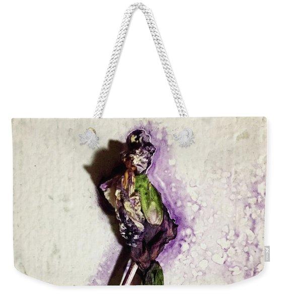 Portrait Of Stan Weekender Tote Bag