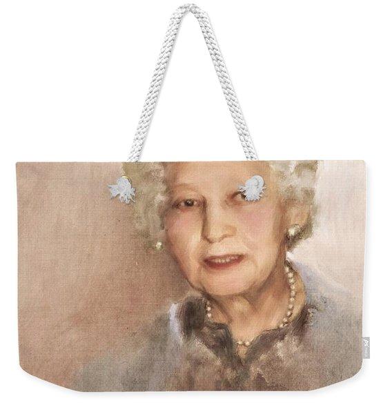 Portrait Of Victoria Weekender Tote Bag