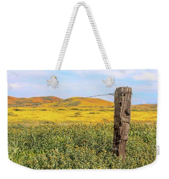 Post And Poppies Weekender Tote Bag
