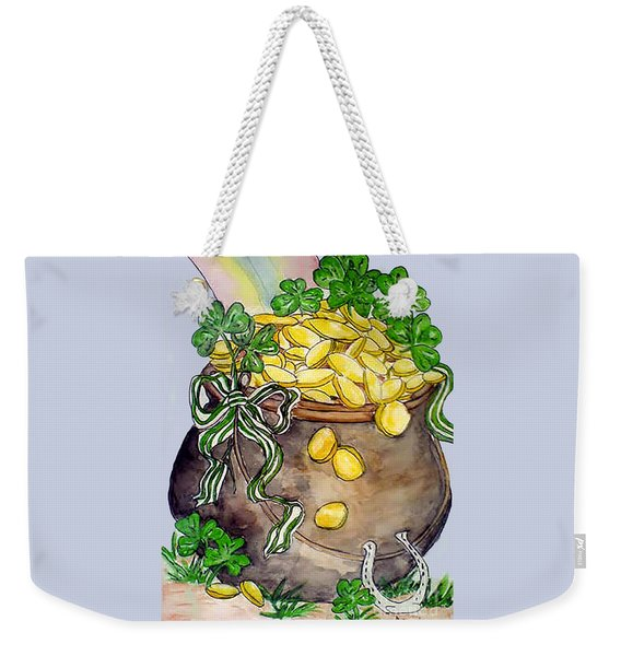 Pot-of-gold Weekender Tote Bag