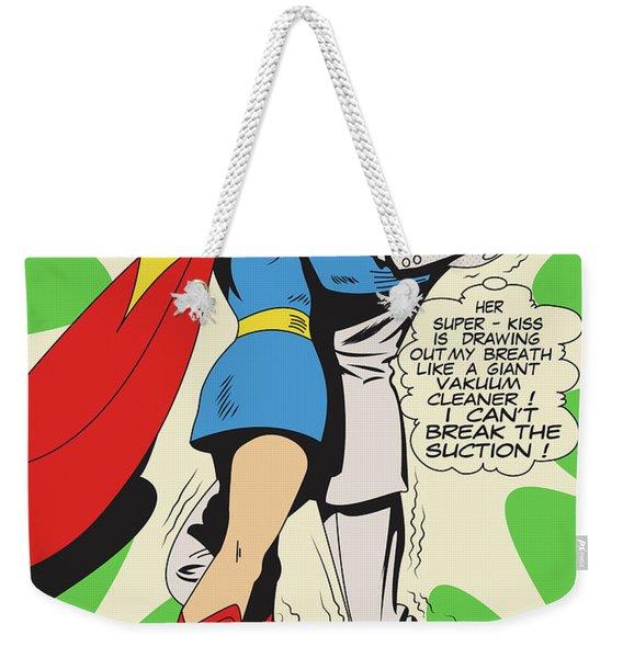 Powerful Smooch Weekender Tote Bag