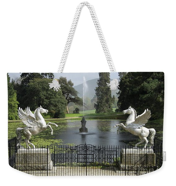 Powerscourt House Terrace And Fountain Weekender Tote Bag