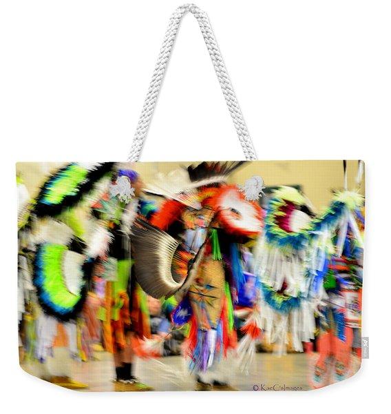 Powwow Abstraction #4 Weekender Tote Bag