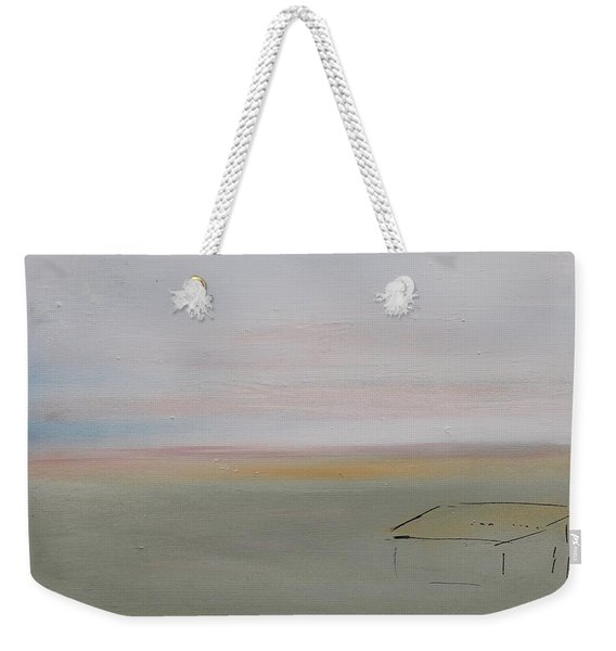 Weekender Tote Bag featuring the painting Prairie Home by Kim Nelson