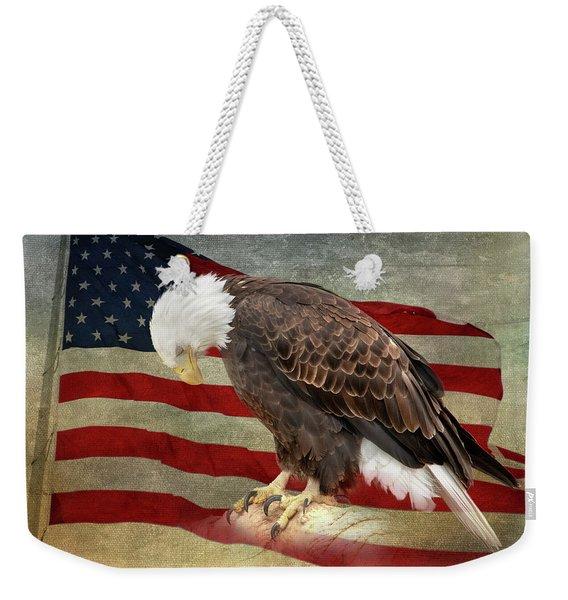 Pray For America Weekender Tote Bag