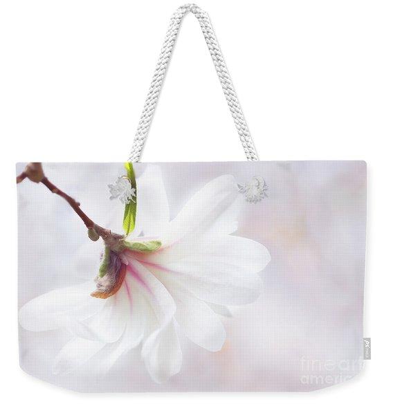 Pretty In Pastel Star Magnolia Weekender Tote Bag