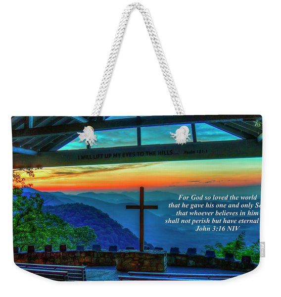 Pretty Place John 316 Sunrise Landscape Camp Greenville South Carolina Art Weekender Tote Bag
