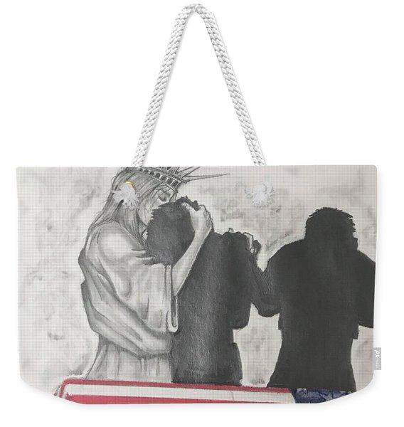 Price Of Liberty Weekender Tote Bag