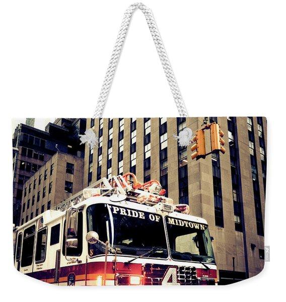 Pride Of Midtown Weekender Tote Bag
