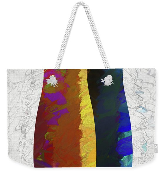 Primary Weekender Tote Bag