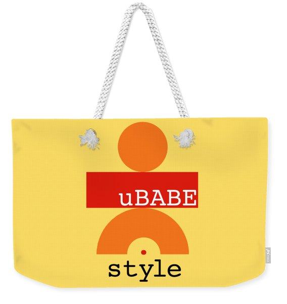 Primitive Yellow Weekender Tote Bag