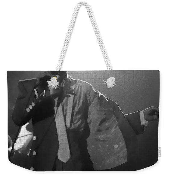 Prince On Stage Belgium 1986 Weekender Tote Bag