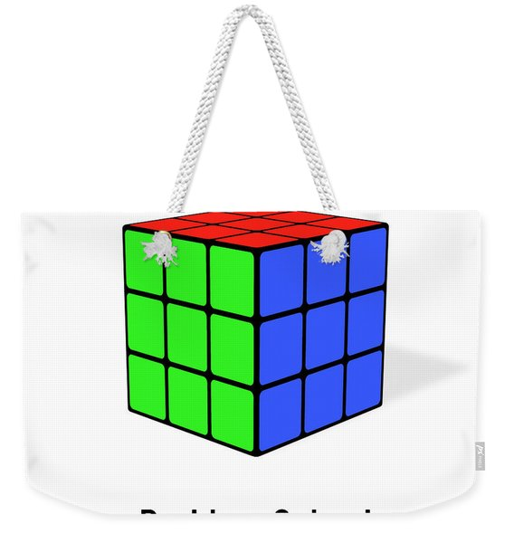 Problem Solved Weekender Tote Bag