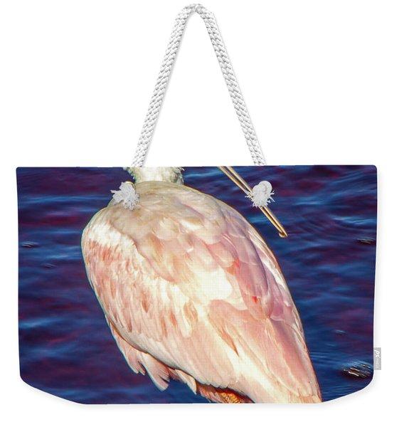 Profile Spoon Weekender Tote Bag